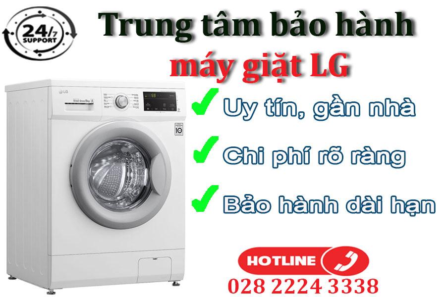 Điều kiện tiếp nhận bảo hành đối với máy giặt LG