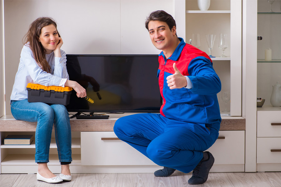 Sửa tivi LG có tiếng nhưng không có hình như thế nào?